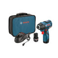 12-Volt Max EC Brushless Impact Driver Kit