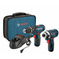 12V Max 2-Tool Combo Kit with 3/8 In. Hammer Drill/Driver and Impact Driver