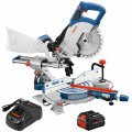 18V 8-1/2 In. Single-Bevel Slide Miter Saw Kit with (1) CORE18V 8.0 Ah PROFACTOR Performance Battery