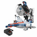 PROFACTOR 18V Surgeon 12 In. Dual-Bevel Glide Miter Saw Kit with (1) CORE18V 8.0 Ah PROFACTOR Performance Battery