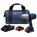 18V High-Torque Impact Wrench Kit with (2) CORE18V 4.0 Ah Compact Batteries