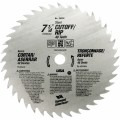 7-1/4 In. 40 Tooth Steel Circular Saw Blade