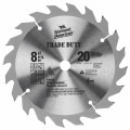 8 In. 20 Tooth Trade Duty™ Carbide Tipped Circular Saw Blade