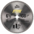 6-1/2 In. 108 Tooth XTEND™ Cordless Series Steel Circular Saw Blade