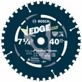 10 pc. 7-1/4 In. 40 Tooth Edge Circular Saw Blades for Fine Finish (Bulk)