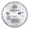 12 In. 40 Tooth Trade-Duty™ Series Carbide-Tipped Circular Saw Blade