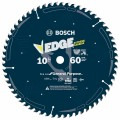 10 In. 60 Tooth Edge Circular Saw Blade for Fine Finish
