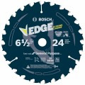 6-1/2 In. 24 Tooth Edge Circular Saw Blade for General Purpose