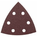 3-3/4 In. 80 Grit 5 pc. Detail Sander Abrasive Triangles for Wood