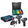 12 V Max 2-Tool Lithium-Ion Cordless Combo Kit with L-Boxx-1A