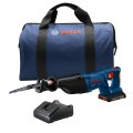 18V 1-1/8 In. D-Handle Reciprocating Saw Kit with (1) 2.0 Ah SlimPack Battery