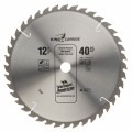 12 In. 40 Tooth King Carbide Series Carbide Tipped Circular Saw Blade