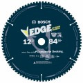 12 In. 84 Tooth Edge Circular Saw Blade for Composite Decking