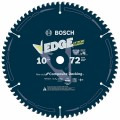 10 In. 72 Tooth Edge Circular Saw Blade for Composite Decking