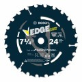 7-1/4 In. 24 Tooth Edge Circular Saw Blade for Framing