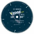 10 In. 80 Tooth Edge Circular Saw Blade for Extra-Fine Finish
