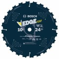 10 In. 24 Tooth Edge Circular Saw Blade for Fast Cuts