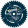 7-1/4 In. 40 Tooth Edge Circular Saw Blade for Fine Finish