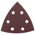 3-3/4 In. 120 5 pc. Grit Detail Sander Abrasive Triangles for Wood