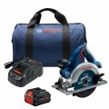 18V 6-1/2 In. Blade Left Circular Saw Kit with (1) CORE18V 8.0 Ah PROFACTOR Performance Battery