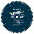 10 In. 72 Tooth Edge Circular Saw Blade for Laminate