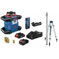 18V REVOLVE4000 Connected Self-Leveling Horizontal Rotary Laser Kit with (1) CORE18V 4.0 Ah Compact Battery