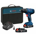 18 V Compact 1/2 In. Drill/Driver Kit with (2) 1.5 Ah SlimPack Batteries