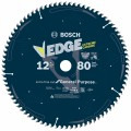 12 In. 80 Tooth Edge Circular Saw Blade for Extra-Fine Finish