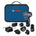 12V Max Chameleon Drill/Driver with 5-In-1 Flexiclick® System with (2) 2.0 Ah Batteries