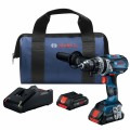 18V EC Brushless Connected-Ready Brute Tough 1/2 In. Hammer Drill/Driver Kit with (2) CORE18V 4.0 Ah Compact Batteries