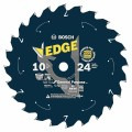 10 In. 24 Tooth Edge Cordless Circular Saw Blade for General Purpose