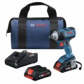 18V EC Brushless 1/2 In. Impact Wrench Kit with (2) CORE18V 4.0 Ah Compact Batteries