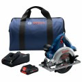 18V 6-1/2 In. Blade Left Circular Saw Kit with (1) CORE18V 4.0 Ah Compact Battery
