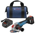 18V X-LOCK Brushless Connected-Ready 4-1/2 In. – 5 In. Angle Grinder Kit with (1) CORE18V 8.0 Ah Performance Battery