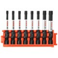 8 pc. Impact Tough™ Torx® 2 In. Power Bits with Clip for Custom Case System