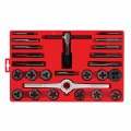 25 pc. do-it-yourselfers Tap & Die Set in Plastic Case